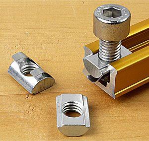 M6 T Slot Nut T-Track Sliding Nut For Woodworking Tool Slot Fastener  23*30mm V1