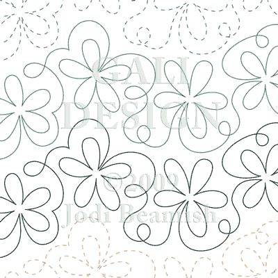 Daisy Bounce free motion quilting | Quilting and Sewing ... : free pantographs for longarm quilting - Adamdwight.com