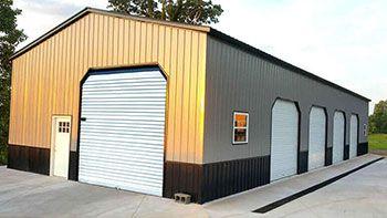 12 Gauge Metal Buildings Steel Buildings With 12 Ga Material Metal Building Prices Metal Buildings Steel Building Cost
