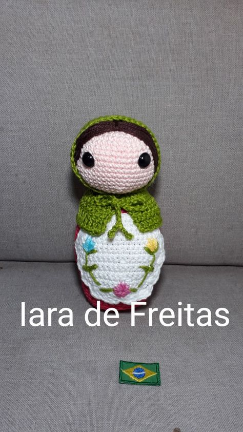 Pin de Anervina em boneca russa | Bonecas de crochê, Bonecas de ... | 842x474