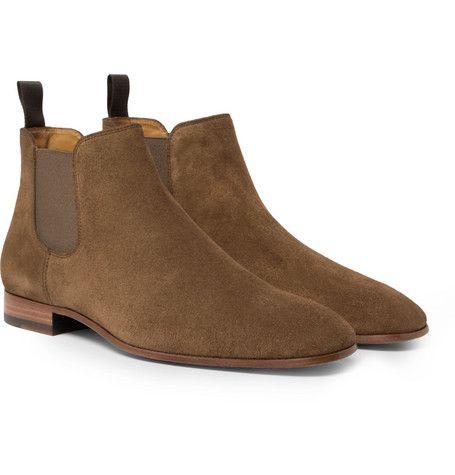 BOSS Mens Classic Half Boots