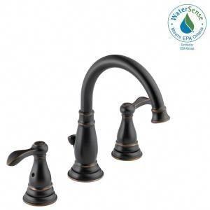 Kohler Worth 8 In Widespread 2 Handle Bathroom Faucet In Oil