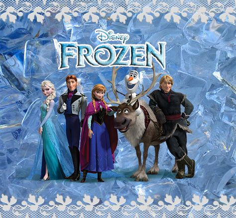 Free Printable Frozen Labels. Idear from Christina: Print this and glue it on a cardbord, and juse this for a invite, or hang it up to dekorate the party
