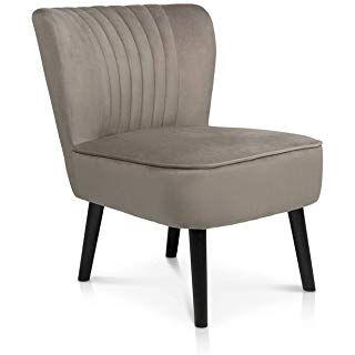 B U S Wohnstyle Sessel Stuhl Loungesessel Dunkel Grau Ws443 Amazon De Kuche Haushalt Lounge Sessel Sessel Retro Sessel
