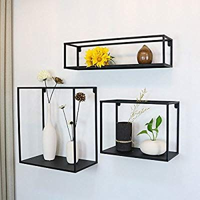 Amazon Com Wgx The Industrial Metal Wall Decor Display Shelf Box