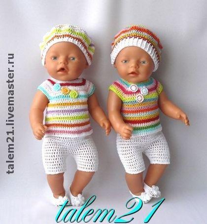 комплект мультяшка 2 одежда для беби бонабеби бонbaby Born