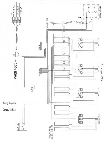 wiring diagram for tanning bed wiring diagram list How Tanning Beds Work Diagram