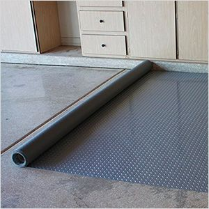 G Floor Gf75dt717sg 7 5 X 17 Diamond Tread Roll Out Garage Floor Garage Floor Garage Floor Paint Garage Floor Mats