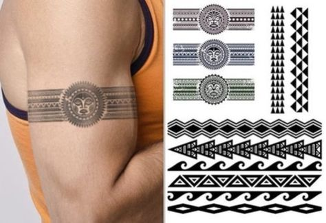 20 Tribal Armband Tattoo Designs for Men