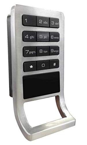 200x Smartcode Electronic Keypad Lock With Programmable Master Code Rfid Key Doorlock For Home Office Building Safe In 2020 Keypad Lock Electronic Lock Rfid