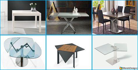 35 Tavoli Allungabili Moderni Dal Design Particolare Tavolo