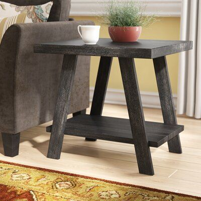 Winston Porter Filipek End Table With Storage Wayfair Ca Tables Cushions On Sofa - Renovo Solid Oak Side Table With Storage