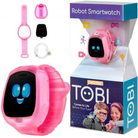 Little Tikes Zegarek Robot Tobi Smartwatch Gry Video Aparat Fitness Rozowy Oficjalny Dystrybutor Zabawek Little Tikes Tobi Little Tikes Smart Watch