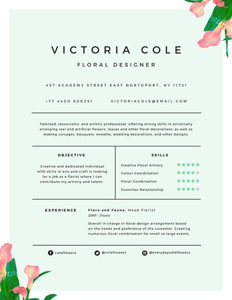 Elegant CV template , cover letter \ reference letter templates (1 - makeup artist resume