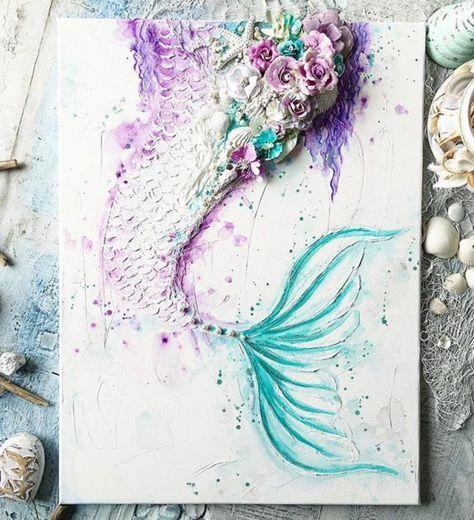Drawing Ideas Mermaid Watercolor Painting 51 Best Ideas Watercolor Mermaid Mermaid Painting Mermaid Art