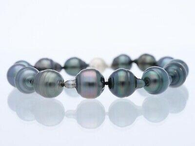 Wert 1240 Eur Armband Tahiti Zucht Perlen 925 Silber Zertifikat Ebay Tahiti Armband Perlen