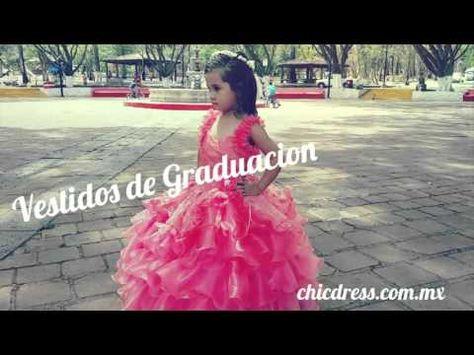 Vestido De Graduacion Para Kinder Niña En Preescolar