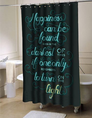 Harry Potter Quote Shower Curtain Harry Potter Bathroom Harry