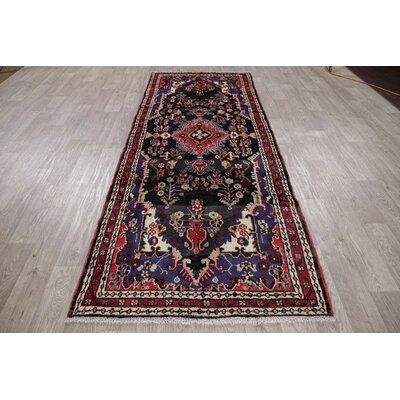 Bloomsbury Market One Of A Kind Hamedan Abrash Hand Knotted Runner