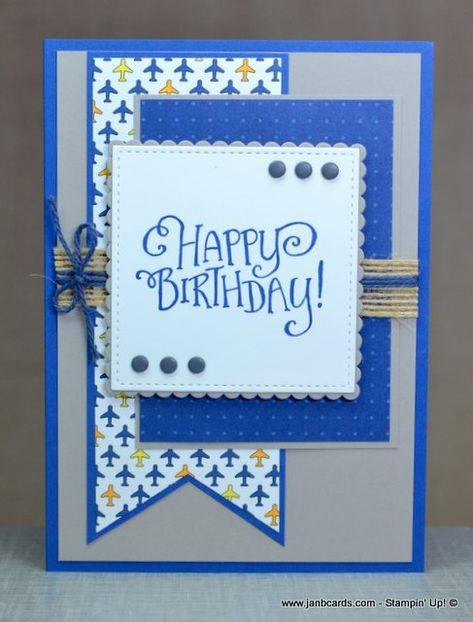 57 Ideas gift cars ideas for guys happy birthday Simple Birthday Cards, Homemade Birthday Cards, Birthday Cards For Boys, Masculine Birthday Cards, Bday Cards, Masculine Cards, Cricut Birthday Cards, Homemade Cards For Men, Scrapbook Birthday Cards