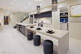 Dropdown Island Bench Google Search Kitchen Island With Table Attached Functional Kitchen Island Kitchen Island Design