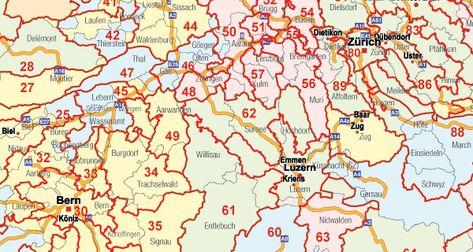 Plz Karte Schweiz.Bildergebnis Fur Karte Schweiz Mit Plz Maps Map