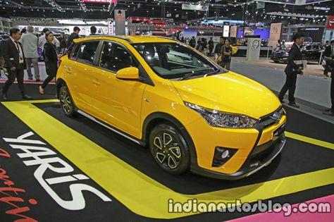 toyota yaris trd sportivo specs vs honda jazz rs special thai motor expo live cars recap