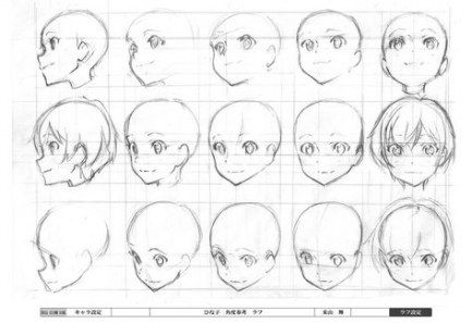 Drawing Girl Faces Tutorials Anime 36 Ideas Anime Face Drawing Anime Head Manga Drawing