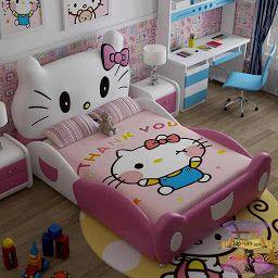 تصاميم غرف نوم بنات وغرف نوم الفتايات بديكورات رقيقة 2021 Kids Bed Design Kids Bedroom Decor Kids Bedroom
