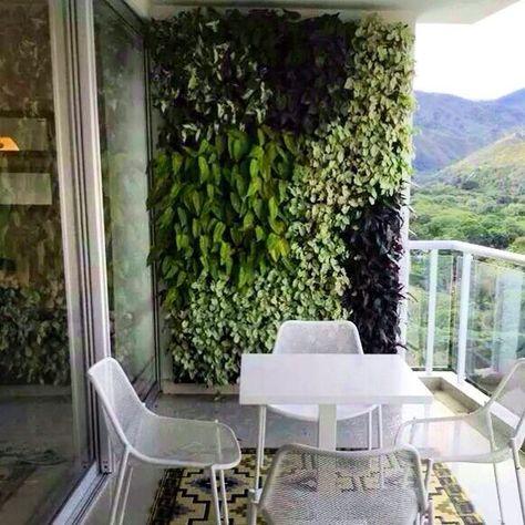 Jardines Verticales En Balcon Buscar Con Google Balcon Del