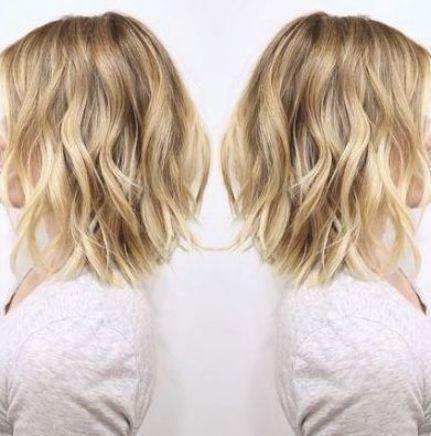 32 Ideas Wedding Hairstyles Bob Wavy Lob In 2020 Hair Styles Wavy Lob Haircut Bob Hairstyles