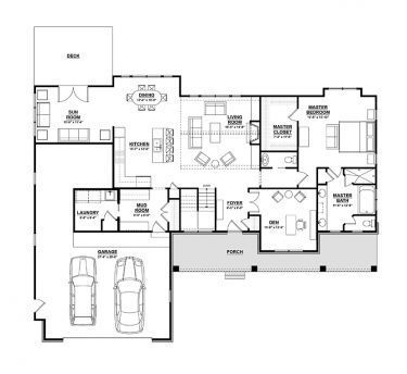Ranch Style House Plan 3 Beds 2 5 Baths 3588 Sq Ft Plan 928 2
