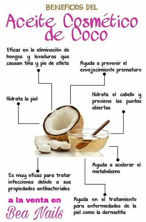 infección de aceite de coco y levadura en la piel
