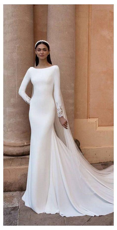 Muslim Wedding Gown, Muslimah Wedding Dress, Muslim Wedding Dresses, Wedding Dress Trends, Bridal Dresses, Hijab Bride, Wedding Hijab, Wedding Gowns, Wedding Cakes