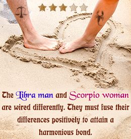 Relationship Compatibility Between a Libra Man and a Scorpio Woman