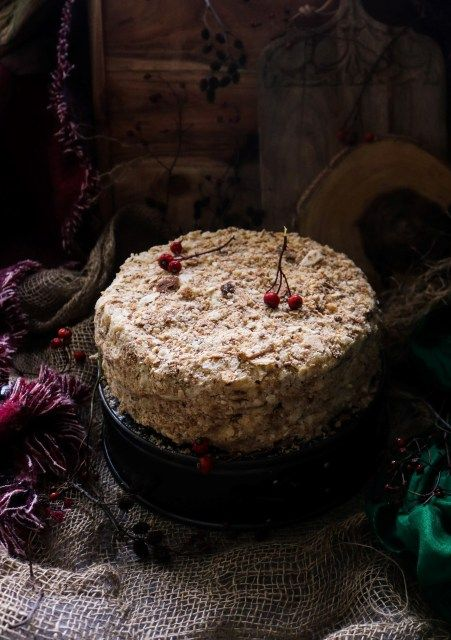 Napoleon Cake Recipe Napoleon Cake Cake Desserts