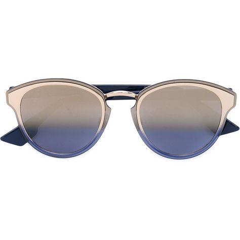 f93d21e253b0 Dior Eyewear Dior Nightfall sunglasses (26,335 PHP) ❤ liked on Polyvore  featuring accessories, eyewear, sunglasses, blue, blue glasses, christian  dior, ...