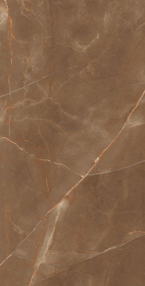 ARMANI BRONZE 1 LMO - Porcelain Floor Slab Tile 800x1600 mm Size High Glossy Finish