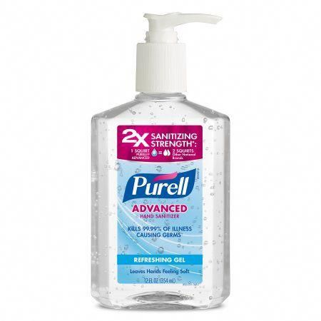 Purell Advanced Refreshing And Moisturizing Gel Hand Sanitizer