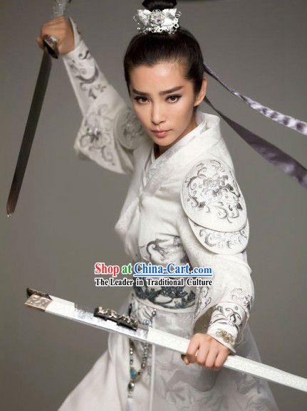 Li Bingbing w Katana- 'Detective Dee & Mystery of Phantom Flame', 2011