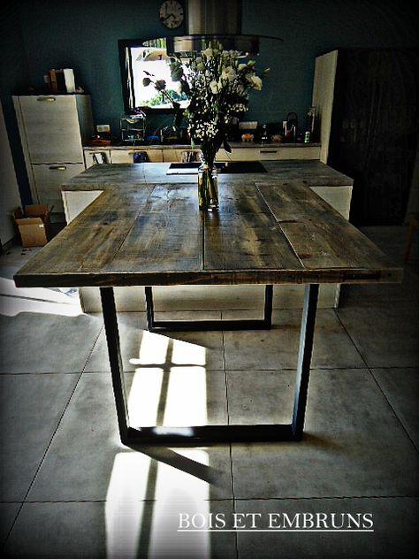 Table Haute Table De Cuisine Plan De Travail Mange Debout En