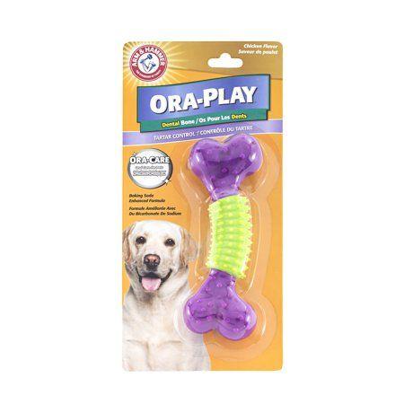 Arm Hammer Ora Play Dental Chicken Flavor Dog Bone Toy In 2020