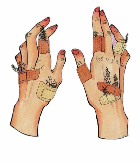 Aesthetic Band Aid Drawing is a free transparent png image. Search and find more on Vippng. Art Drawings Sketches, Cute Drawings, Drawings On Hands, Random Drawings, Pretty Art, Cute Art, Grunge Art, Sad Art, Hippie Art