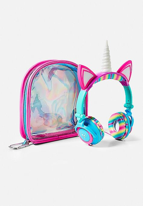 Light-Up Unicorn Headphones | Justice