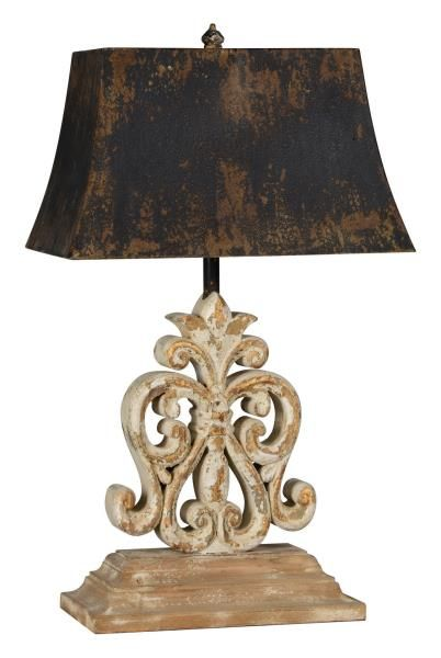 Forty West Designs 70710 Ivy Table Lamp Beautifully aged and