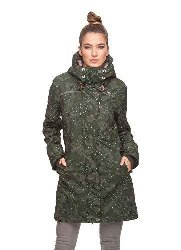 Tawny S Dark Green 2019Camo in Camo Jacket Ragwear jacket OPiuZTkX