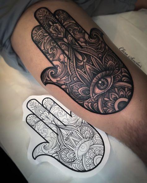 Hamsa Hand by Clara Sinclair