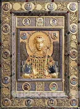 119 best the byzantine empire images on pinterest byzantine art st michael silver gilt plaque with enamel and precious stones byzantine goldsmith art fandeluxe Image collections