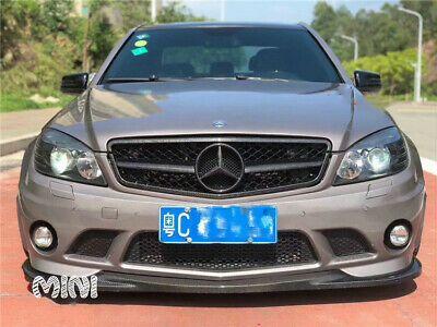 Details About Carbon Fiber For Mercedes Benz C Class W204 Front