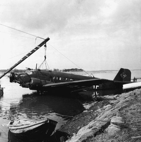 Junkers Ju 52/3m №:1Z+BC Stab II./K.G.z.b.V.1 Битва за Британию 1940